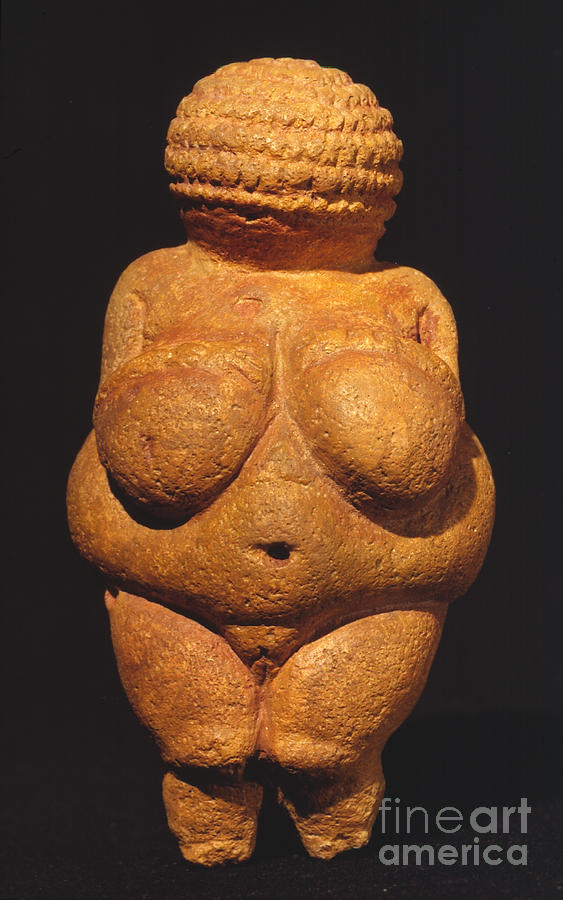 Ancient Photograph - Venus Of Willendorf by Granger