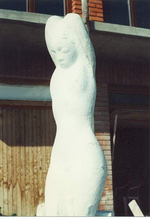 Woman Sculpture - Venus by Vasko Vassilev