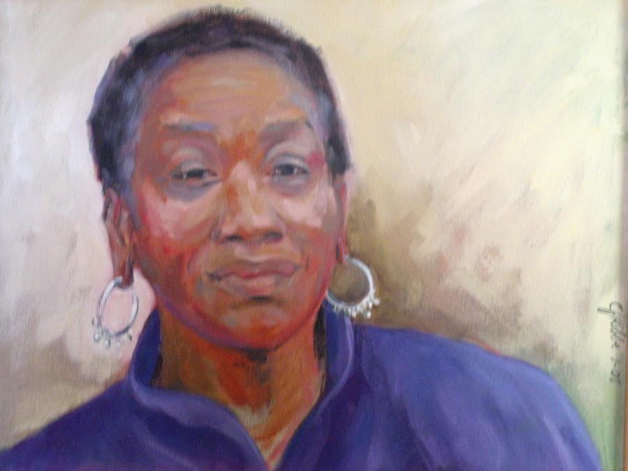 Portrait Painting - Vera by Carolyn Favor Kibbe