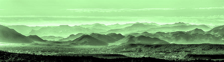 Landscape Photograph - Verdant Hills Of The Tonto by Mike Herdering