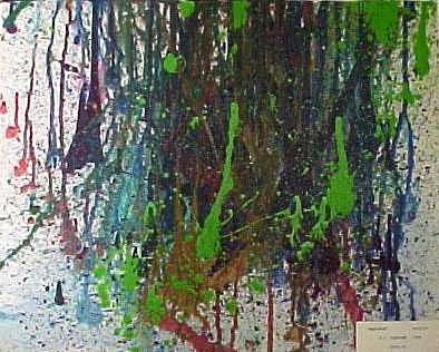 Abstract Painting - Verdante by Ronald Pastore