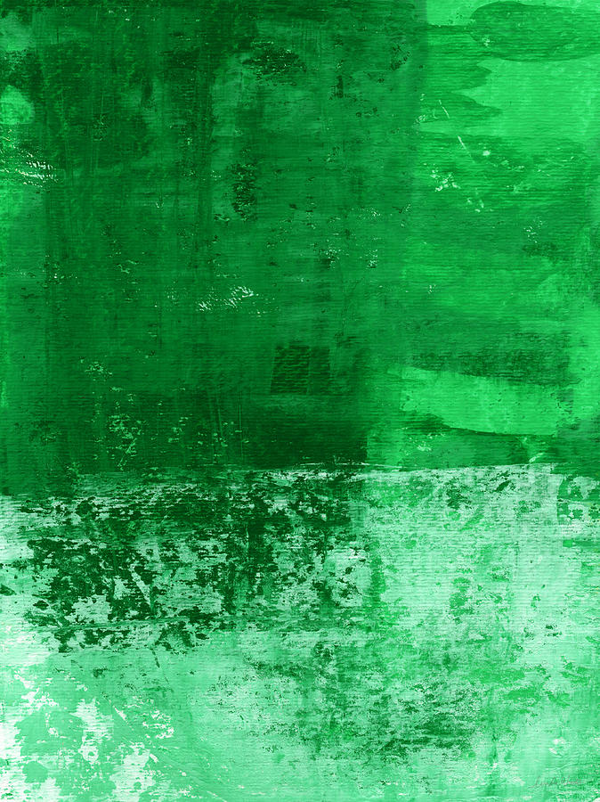 Verde-  Contemporary Abstract Art Painting