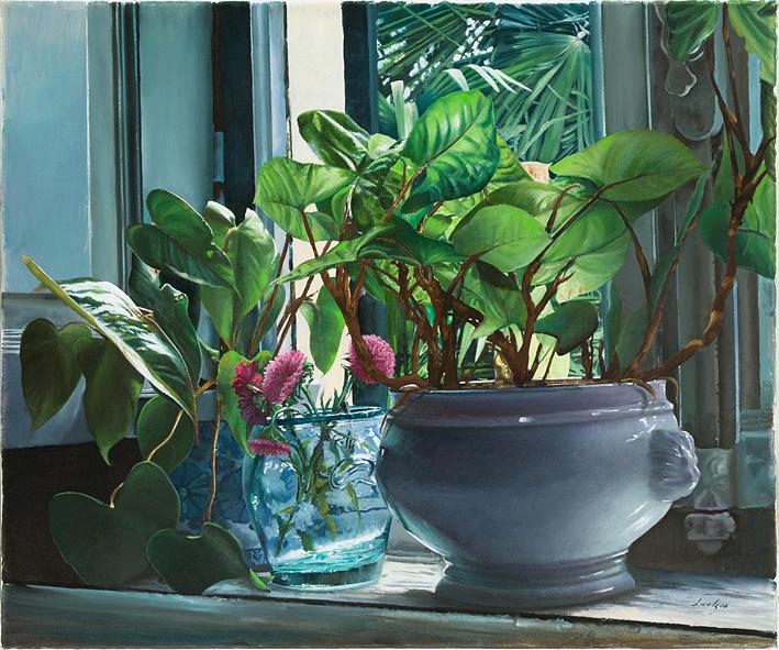 Pottery Painting - Verdissimo by Danka Weitzen