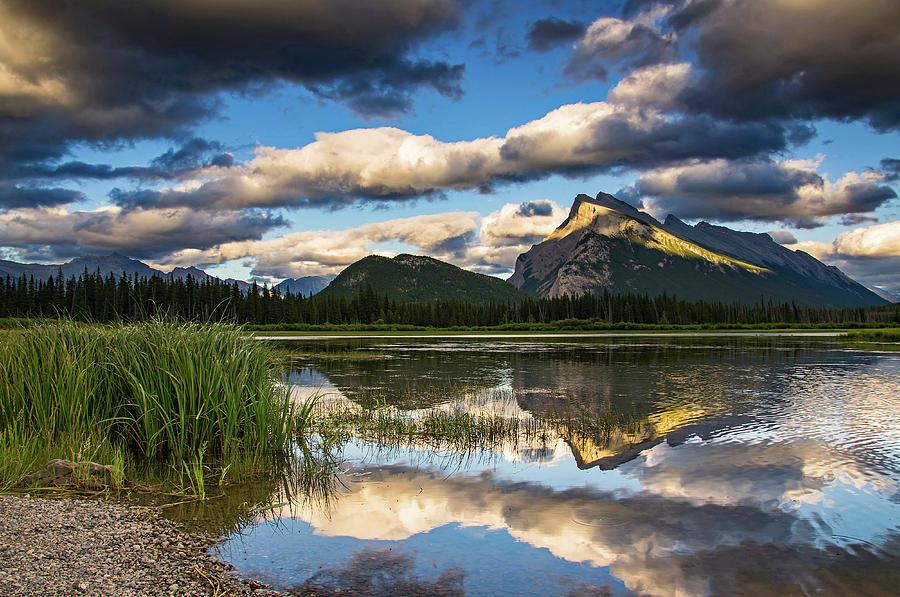 Vermillion Lakes Photograph