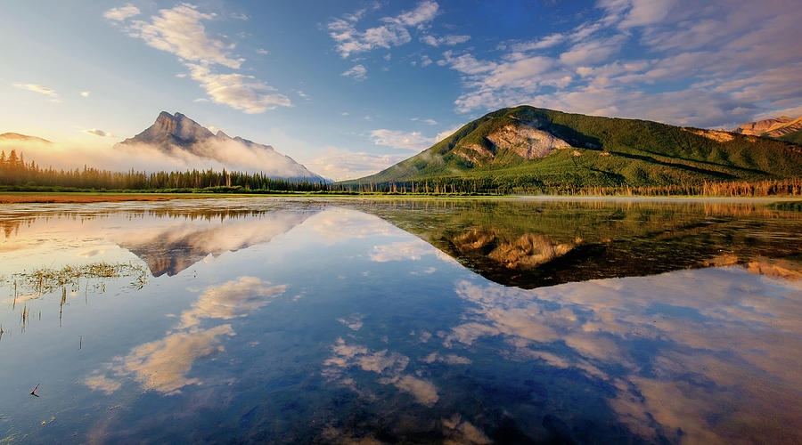Vermilion Reflections by Neil Shapiro