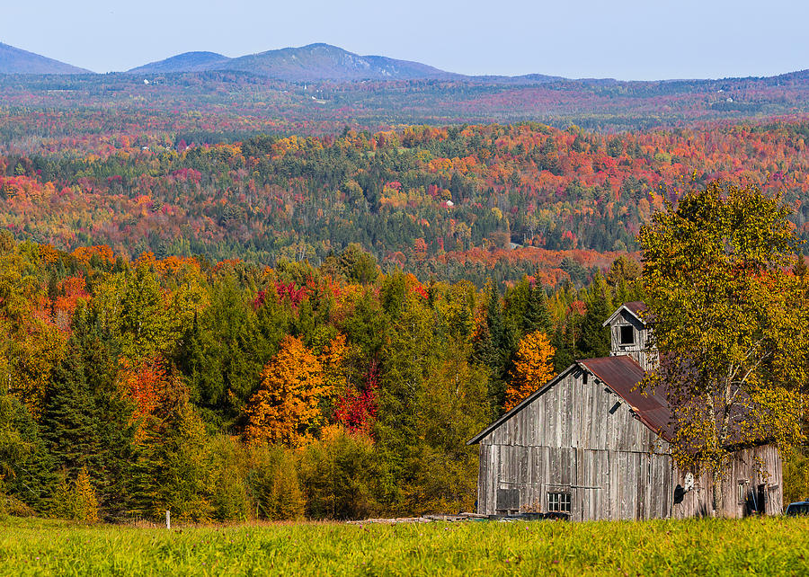 Vermont Fall Landscape Photograph By Tim Kirchoff