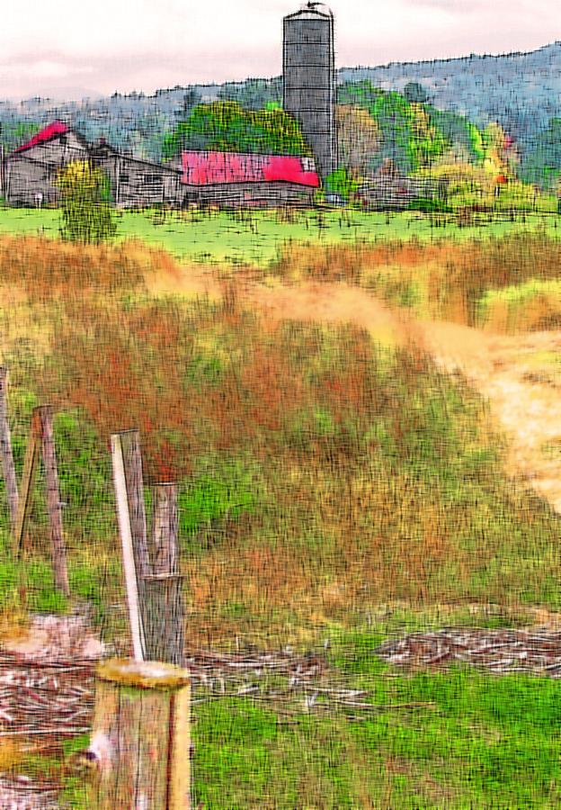 Farm Photograph - Vermont Farmland 3 by Steve Ohlsen