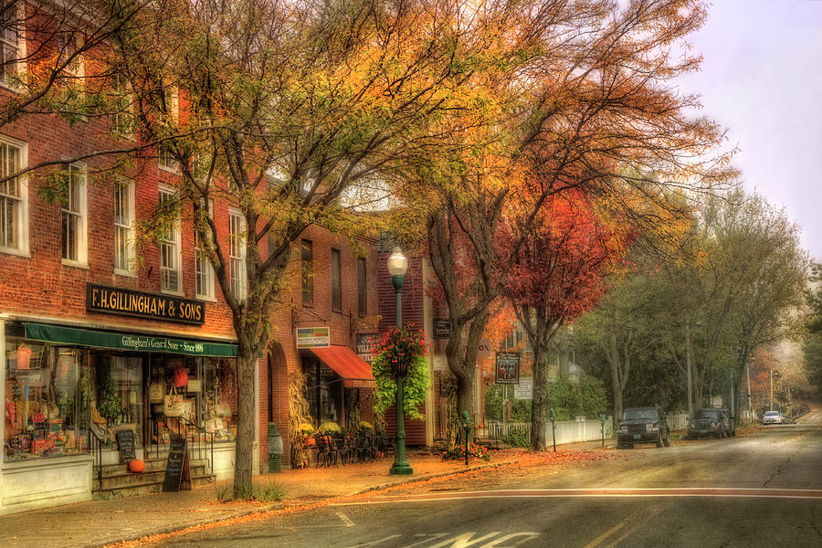 Woodstock, VT Photo | Main Streets of America Photos