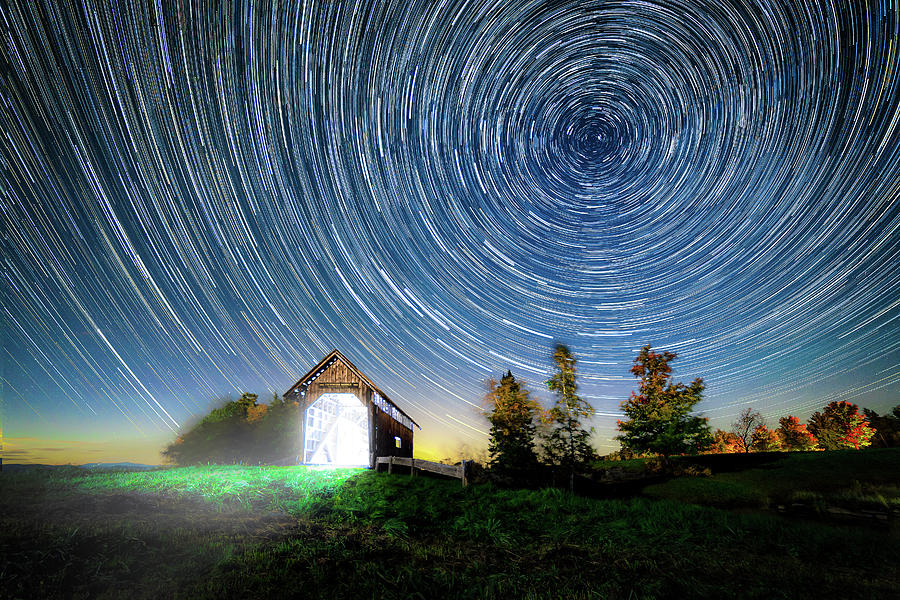 2016 Photograph - Vermont Starry Night by Dana Plourde