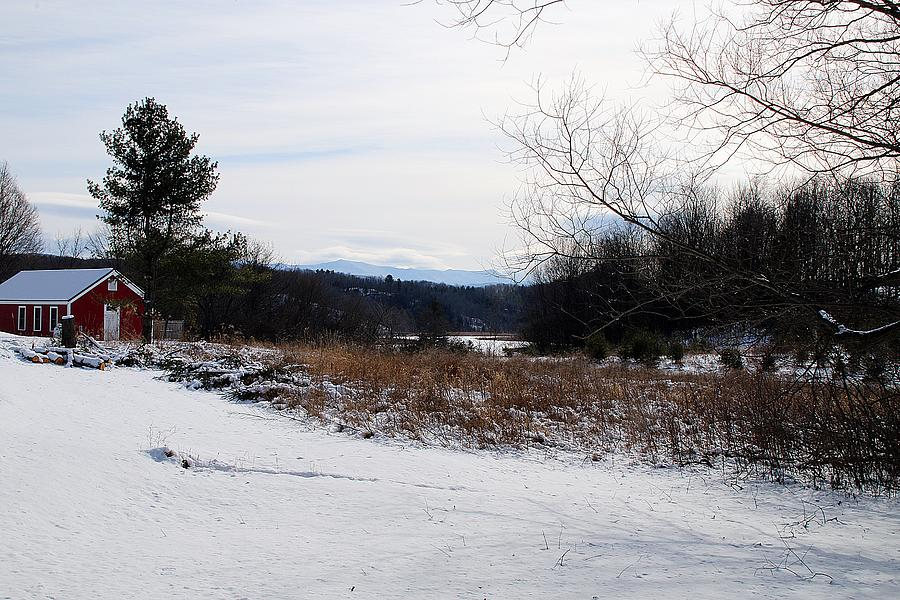 Vermont Winter Scenery 5 by Wayne Toutaint