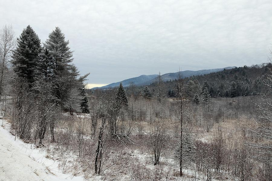 Vermont Winter Scenery by Wayne Toutaint