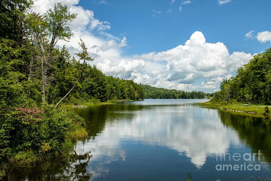 Vermonts Miller Pond Photograph
