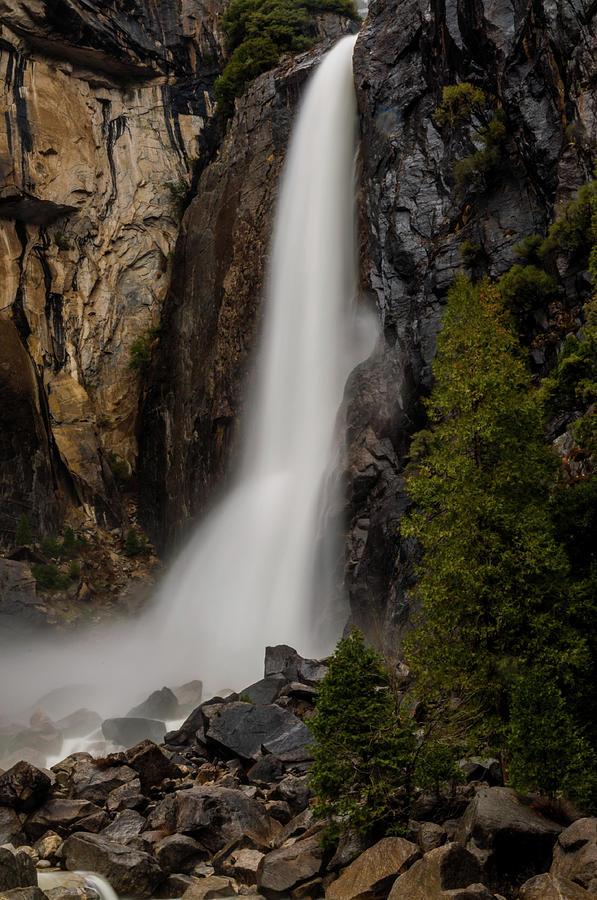 Waterfalls Photograph - Vernal Falls by TM Schultze