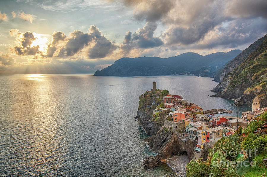 Vernazza from Above by Jennifer Ludlum
