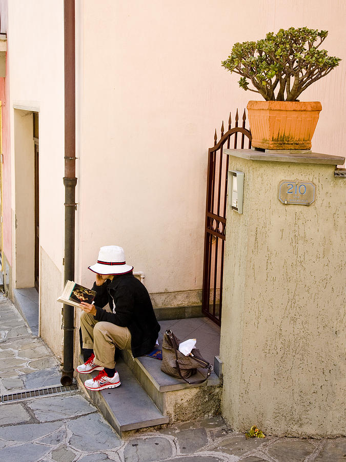 VERNAZZA, ITALY, 2010. by John Jacquemain