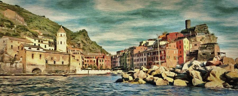 Vernazza by Jeffrey Kolker
