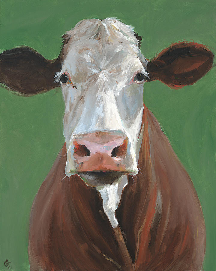 Hereford Painting - Veronica by Cari Humphry