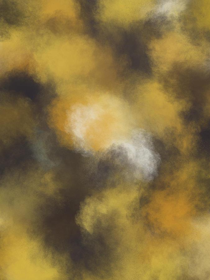 Three Dots Painting - Versace Abstract-5 by Three Dots