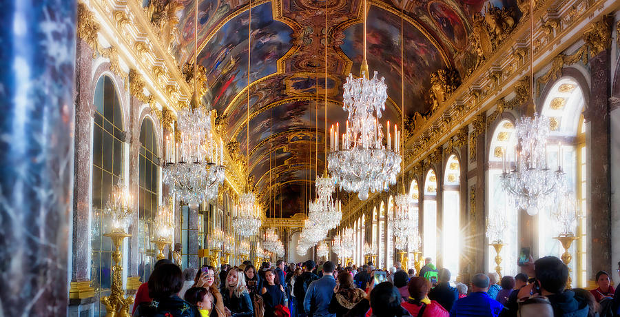 Medieval Photograph - Versaille Assembly by Chris Hood