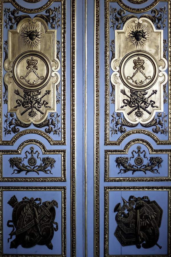 Versailles Door Photograph - Versailles Door by Georgia Fowler
