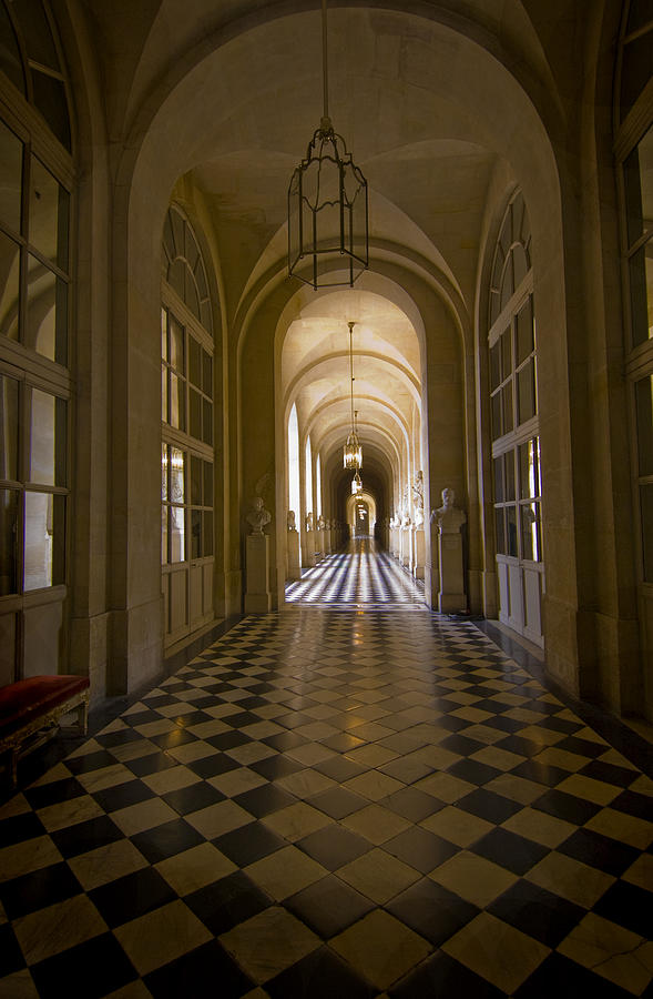 France Photograph - Versailles Passage by Robert Ponzoni