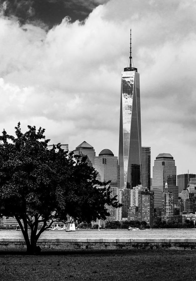 Freedom Tower Photograph - Vertical by Ovidiu Rimboaca