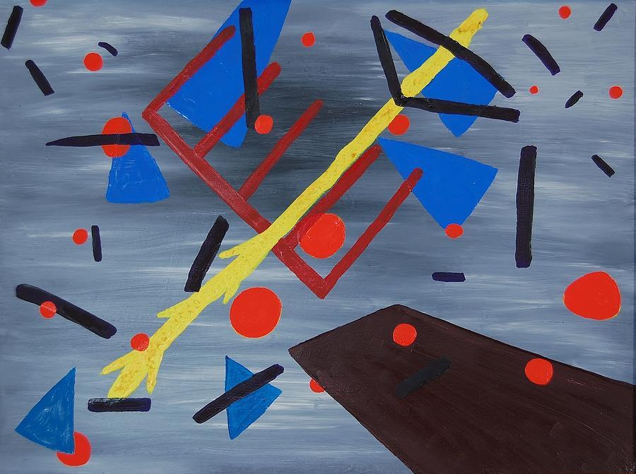 Vertigo Painting - Vertigo by Charla Van Vlack