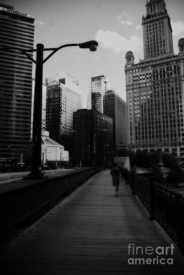 United States Photograph - Vertigo Chicago by Frank J Casella