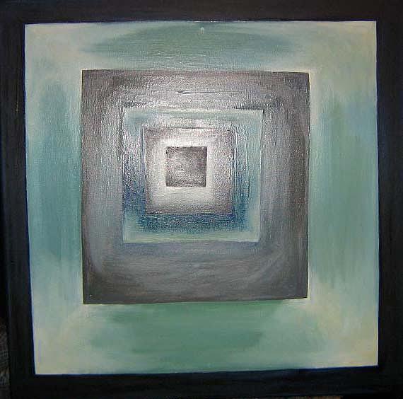 Vertigo Painting by Roxana Niculae