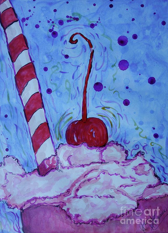 Very Cherry Soda Painting