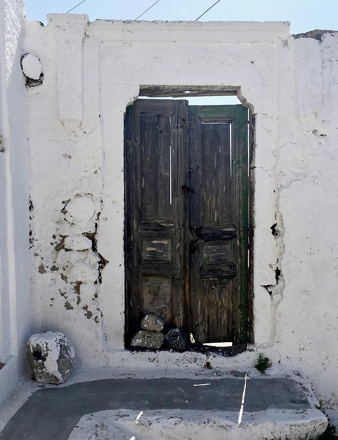 Door Photograph - Very Old Door by Leslie Brashear