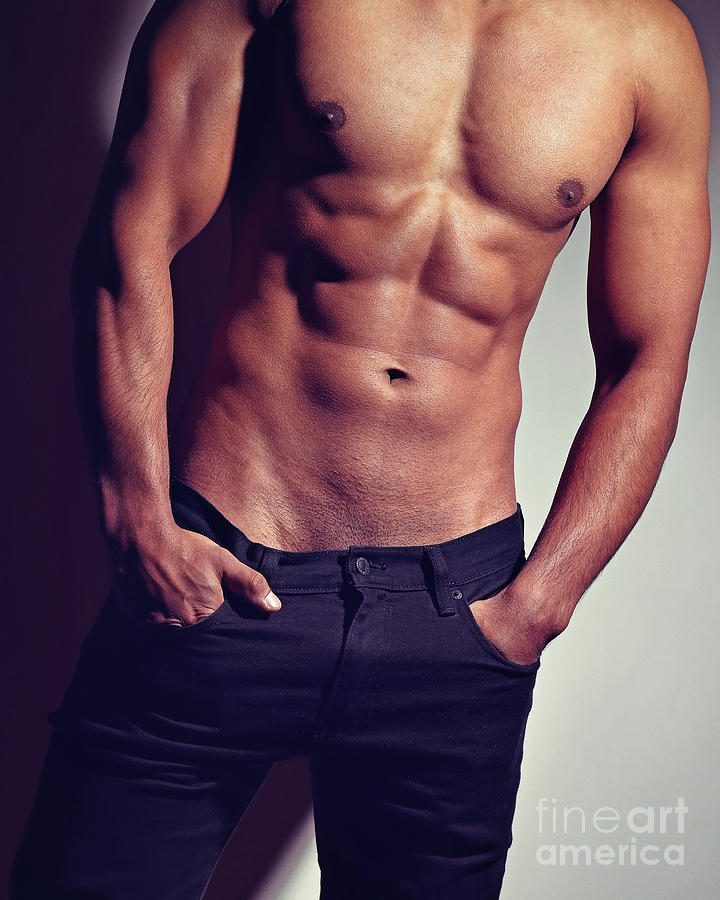Very sexy man with great body by William Langeveld