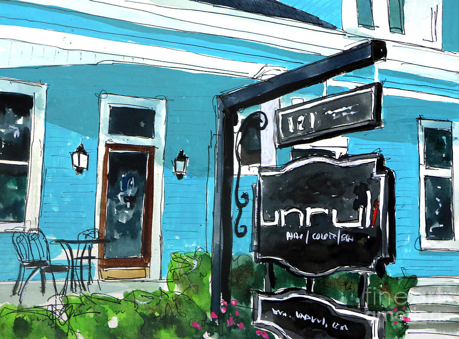 Franklin Painting - Truly Unruli by Tim Ross