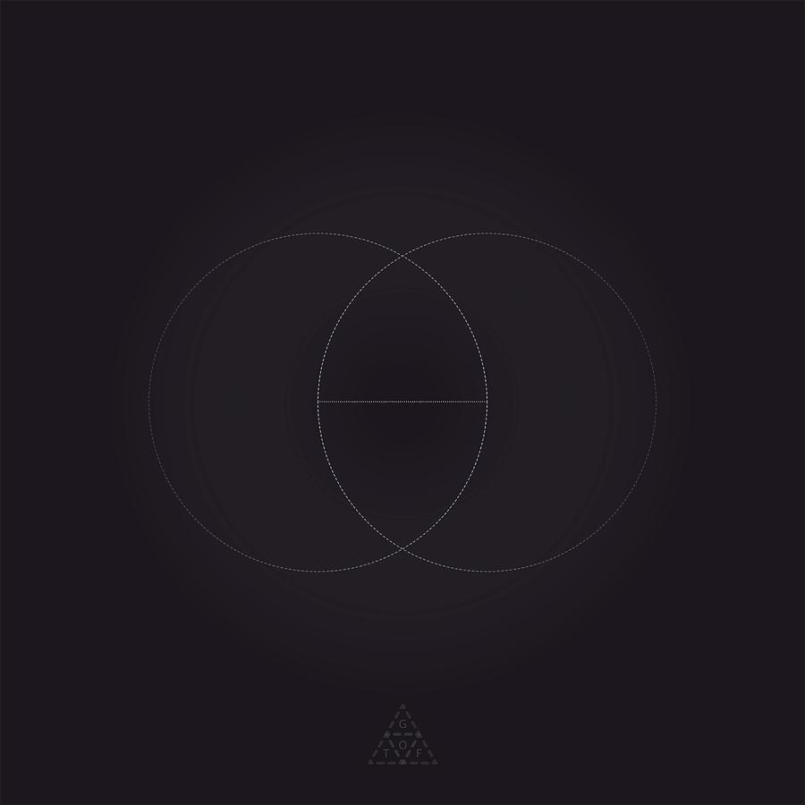 Geometry Digital Art - Vesica Piscis V11.1 by Guardians of the Future