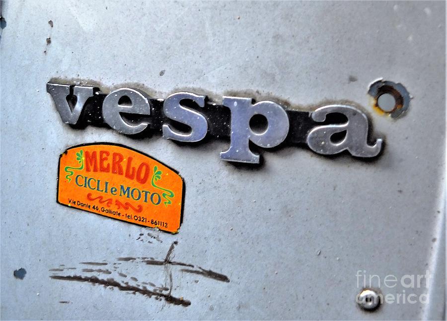 Vespa Photograph by Jamie McGrane