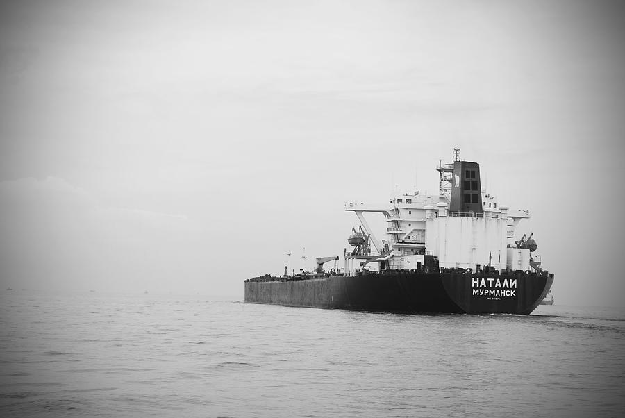 Ship Photograph - Vessel by Susette Lacsina