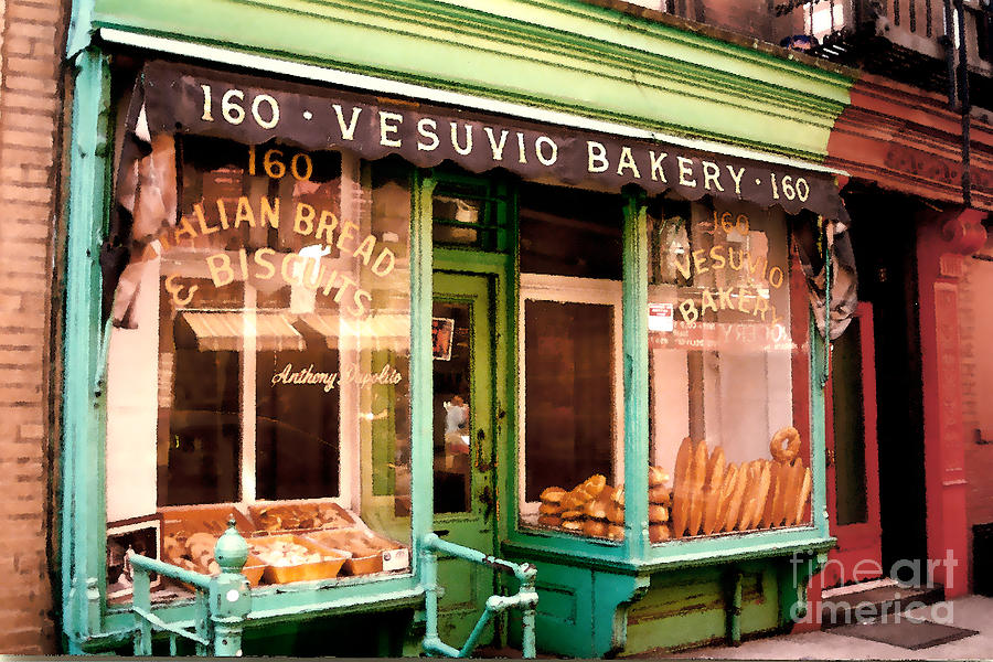 Abstract Photograph - Vesuvio Bakery by Linda  Parker