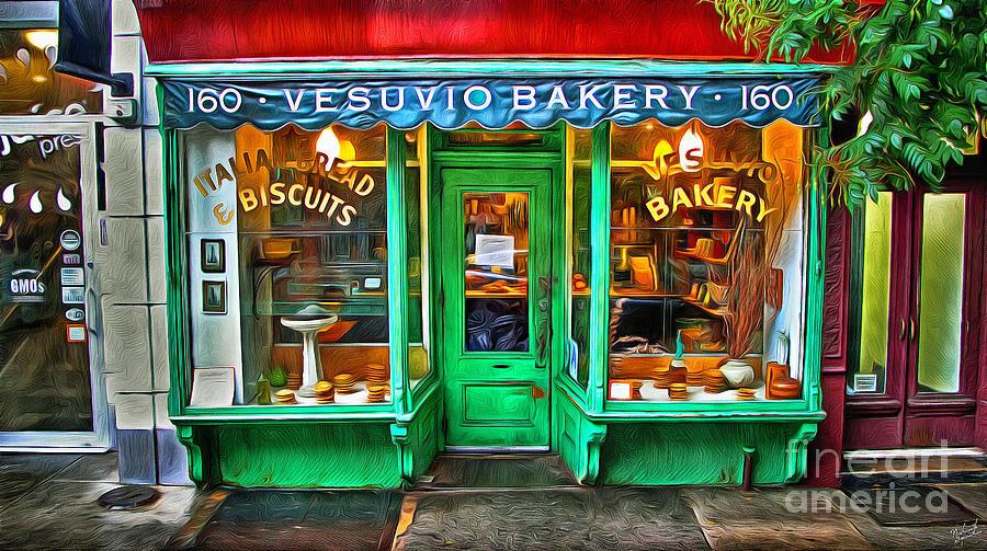 Vesuvio Bakery Photograph - Vesuvio Bakery by Nishanth Gopinathan