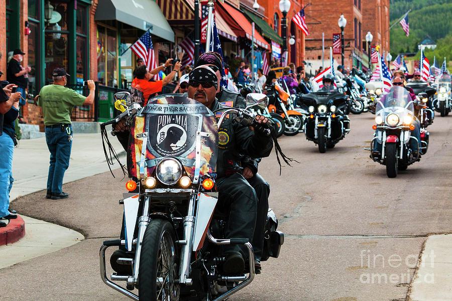 Veterans Freedom Ride In Cripple Creek Photograph