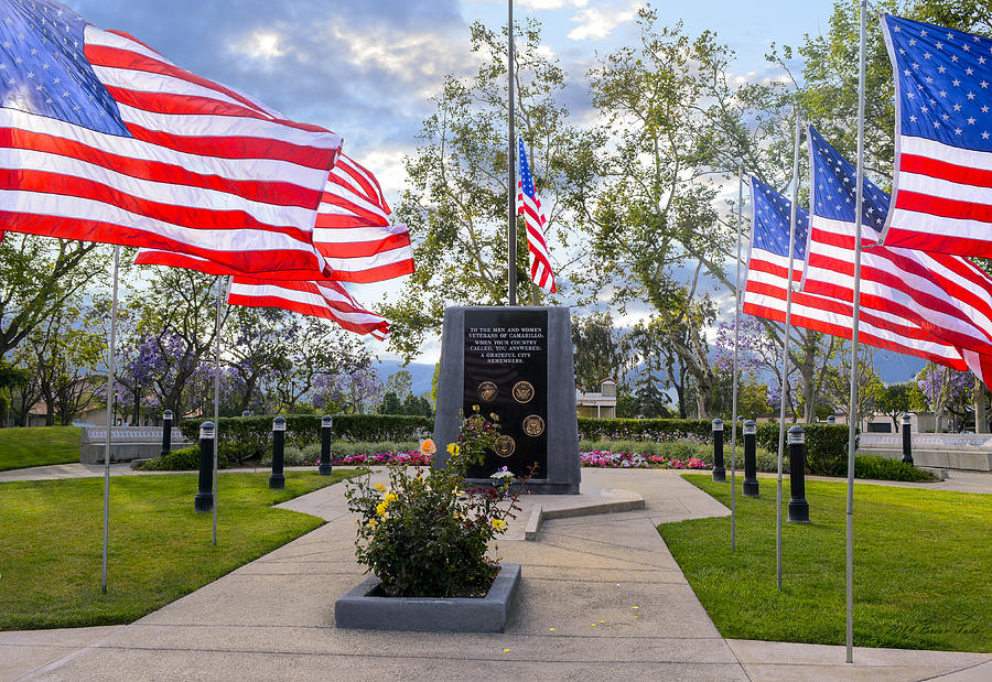 Veterans Monument Camarillo California USA by Brian Tada