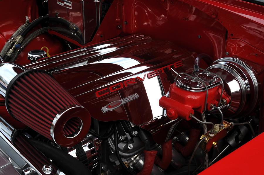 Corvette Photograph - Vette by Lyle  Huisken