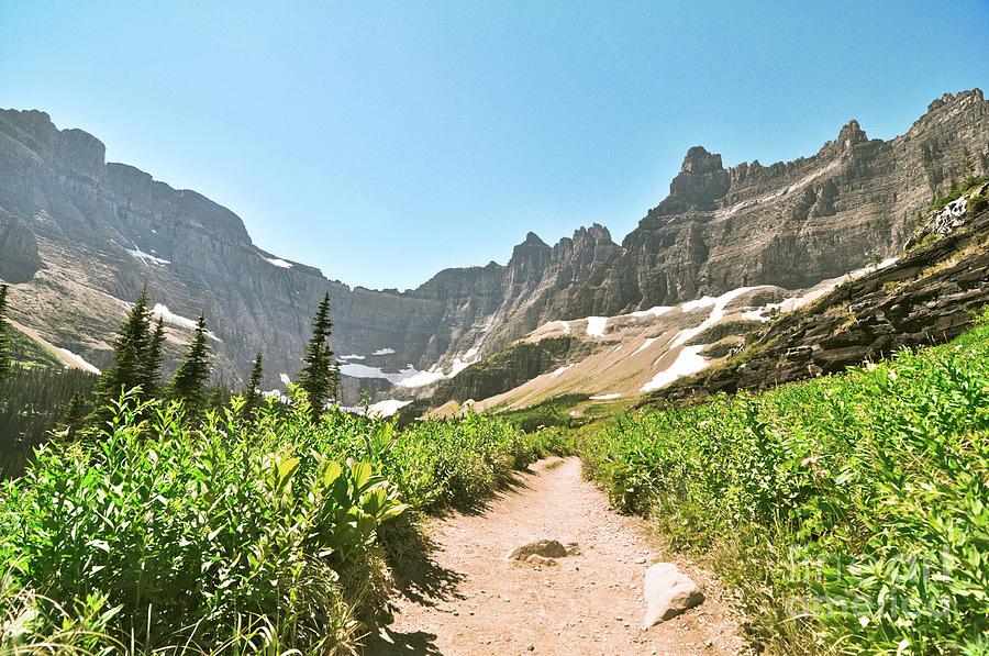 Glacier National Park Photograph - Via by Brooke Meislik