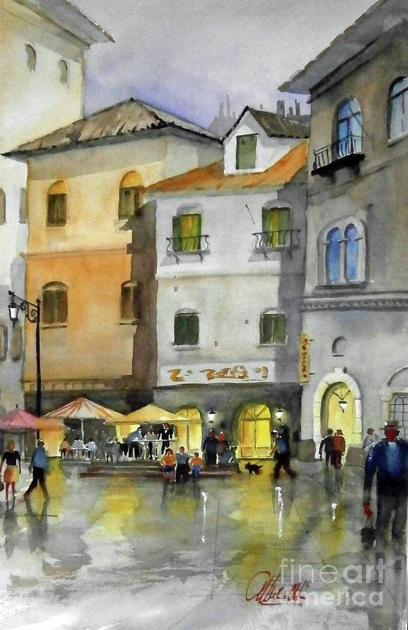 via Corso by Gerald Miraldi