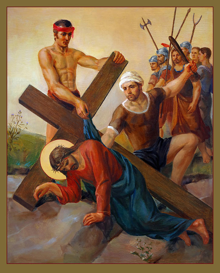 Via Dolorosa - The Second Fall Of Jesus - 7 by Svitozar Nenyuk