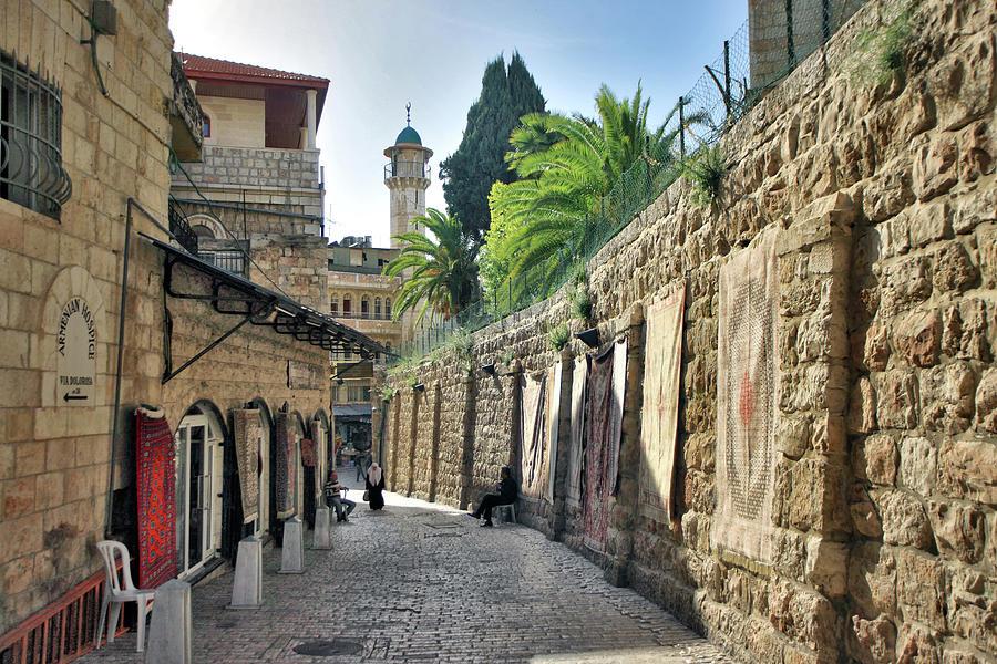 Jerusalem Photograph - Via Dolorosa by Zoriy Fine