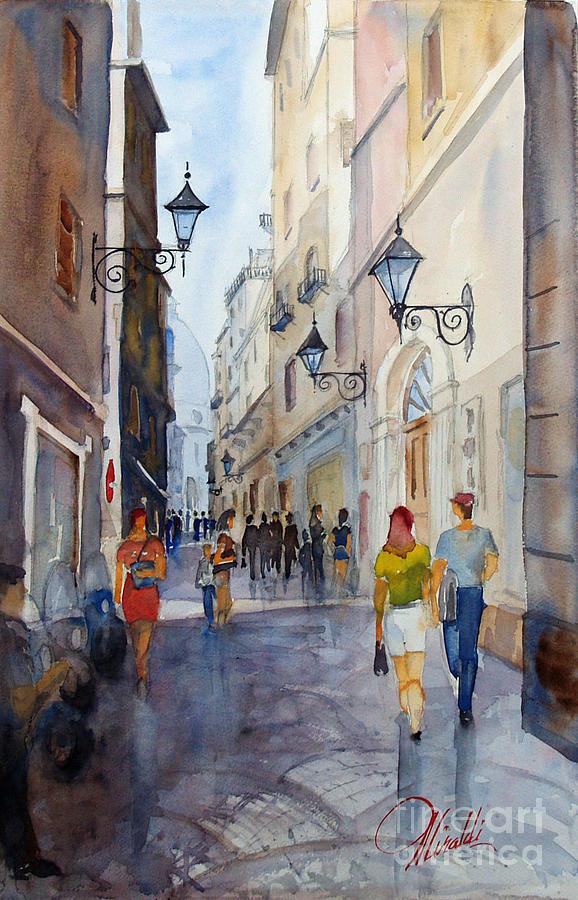 Via Garibaldi by Gerald Miraldi