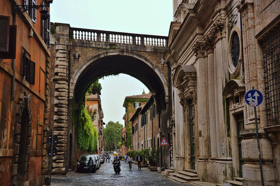 Italy Photograph - Via Giulia by JAMART Photography