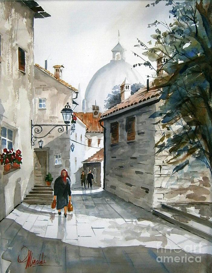 Via Coronari by Gerald Miraldi