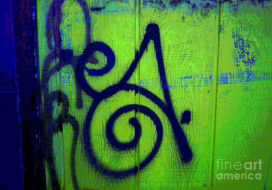 Graffiti Photograph - Vibrant City by Barbara Schultheis