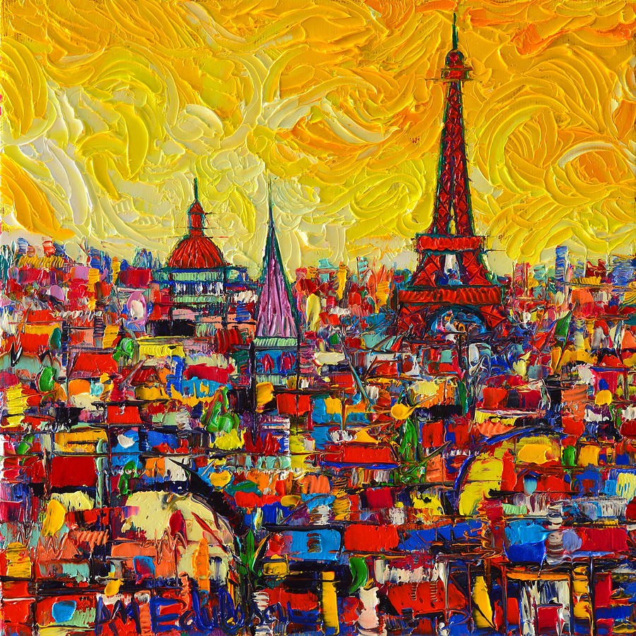 S S Painting From Barcelona For Sale